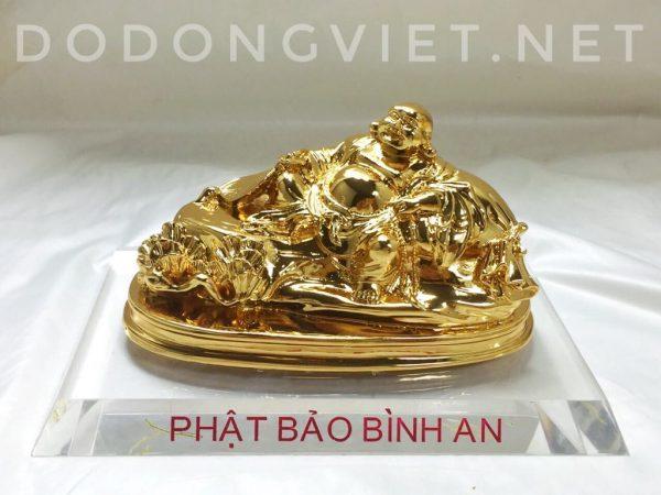 tượng di lặc mạ vàng 24k