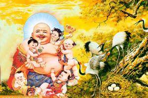 Những điều cần biết khi đặt tượng Phật Di Lặc trong nhà