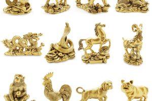 Ý nghĩa phong thủy của tượng đồng 12 con giáp